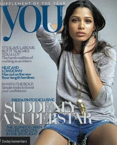 Freida Pinto - You Magazine Cover [United States] (March 2011)