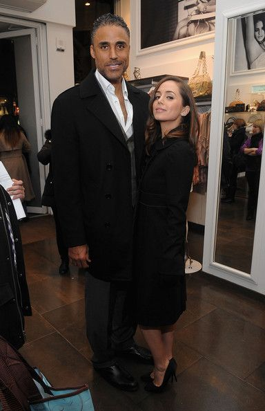 Eliza Dushku and Rick Fox