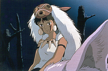 Princess Mononoke Claire Danes, a young woman raised by wolves in  - 10/99