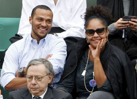 Jesse Williams and Arin - French Tennis Open Match on March 31, 2010