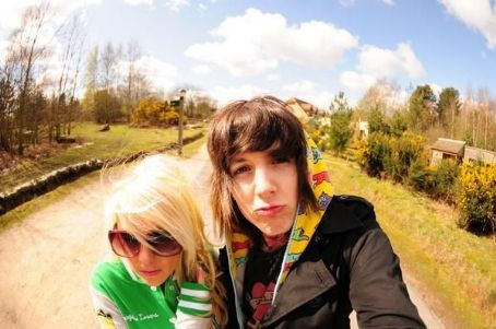 Sj Whiteley and Oliver Sykes