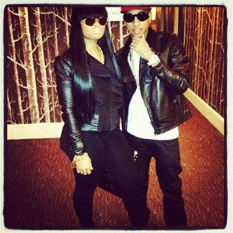 Blac Chyna Tyga and  at 106&Park
