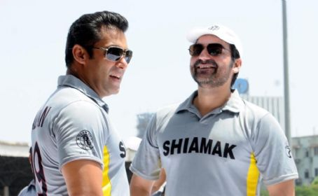Arbaaz Khan Salman Khan At Celebrity Charity Cricket Match 2012