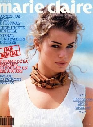 Rebecca Romijn - Marie Claire Magazine Cover [France] (June 1993)
