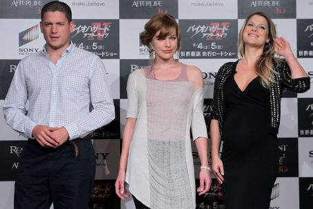 "Wentworth Miller - ""Resident Evil: Afterlife"" Japan Press Conference"