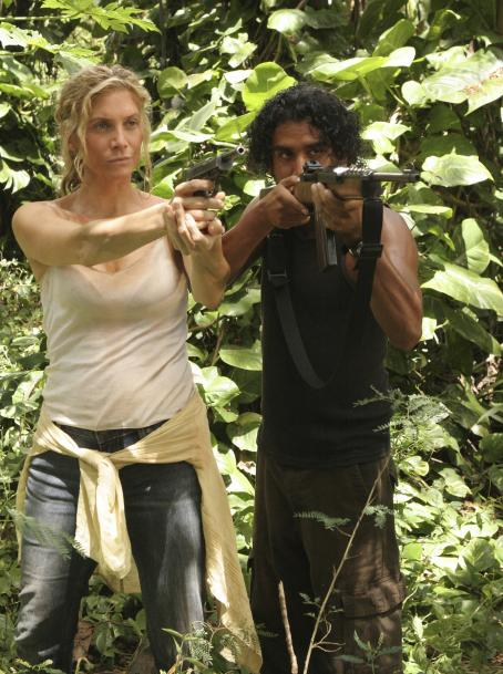 Elizabeth Mitchell and Naveen Andrews - Lost Season 4 Press Stills
