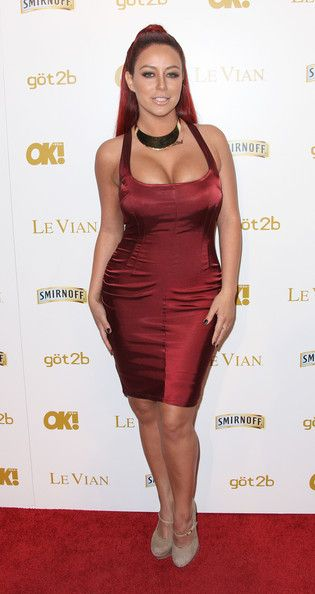 Aubrey O'Day Ok! Magazine's Pre-GRAMMY Event