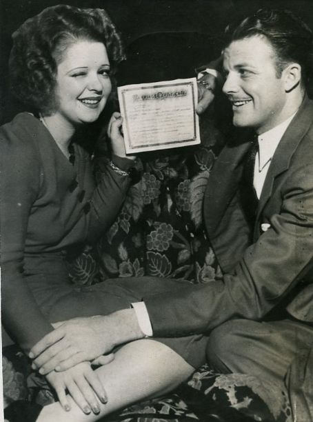 Rex Bell and Clara Bow