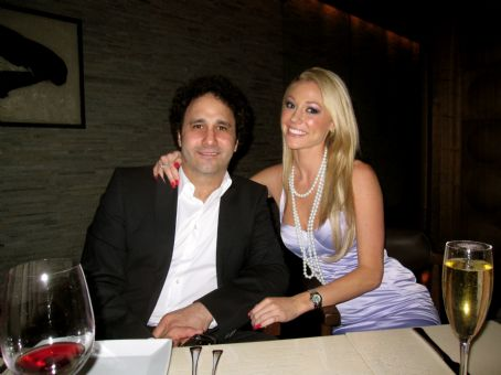 George Maloof  with Kelly Carrington