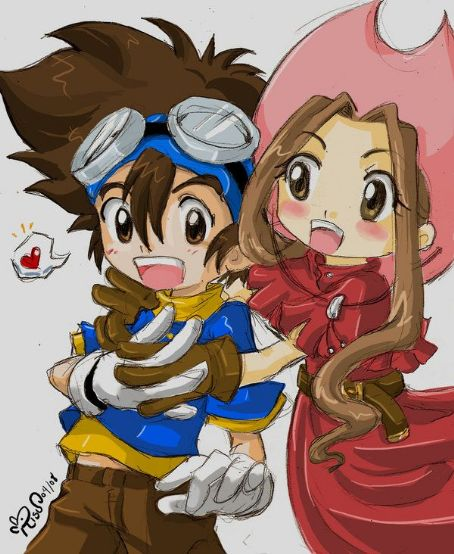Digimon: Digital Monsters mimi and tai