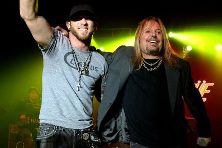 Brantley Gilbert  with Vince Neil