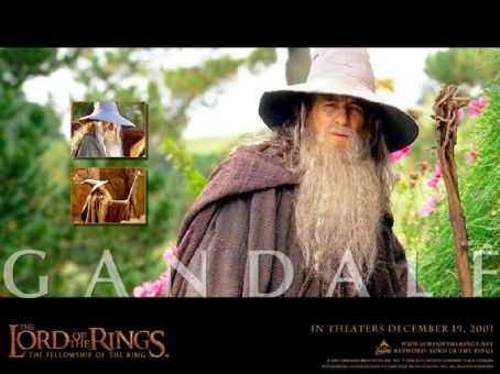 Ian McKellen - New Line's The Lord of The Rings: The Two Towers - 2002