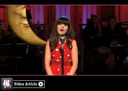SNL Recap: Zooey Deschanel Hosts, Karmin Performs