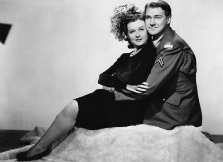 Paulette Goddard - With Sonny Tufts in I Love A Soldier 1944