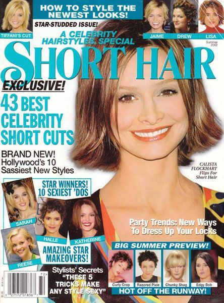 celebrity hair style magazine