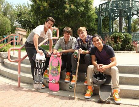 Logan Henderson Big Time Rush is gearing up for their appearance at the 2011 Nickelodeon Worldwide Day Of Play