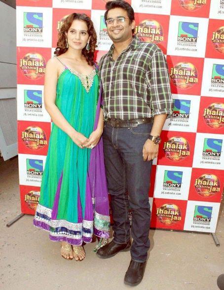 Madhavan Kangana and Madhvan on Jhalak Dikhla Ja