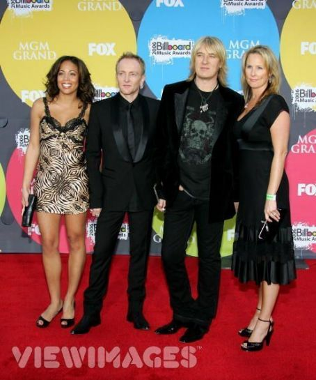 Kristine Elliott Phil Collen and Anita Collen