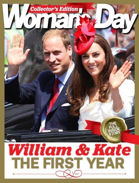 Prince William Windsor, Kate Middleton - Woman's Day Special Issue Magazine Cover [New Zealand] (16 April 2012)