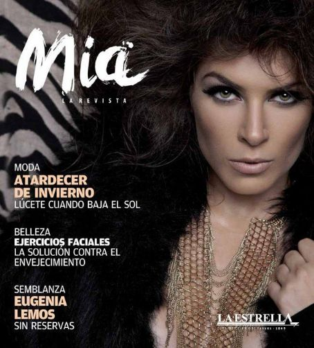 Eugenia Lemos - Mia Magazine Cover [Panama] (July 2011)