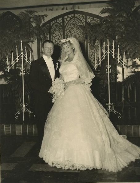 Mary Goodneighbor Original professional wedding photo of  and Dr. James Taren.. They were married on the 5th of December, 1959; in Haledon, New Jersey