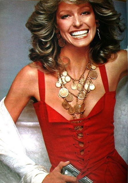 Farrah Fawcett - Vogue Magazine Pictorial [United States] (April 1977)