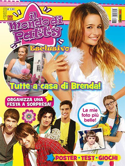 Brenda Asnicar - Il Mondo Di Patty Magazine Cover [Italy] (March 2011)