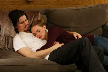 Jason Ritter as Peter with Jess Weixler as Vandy in Strand Releasing 'Peter and Vandy.'