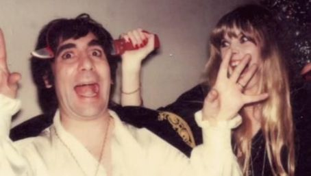 Annette Walter-Lax Keith Moon and Annette Walter-lax