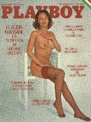 Claudia Marsani - Playboy Magazine Cover [Italy] (September 1975)