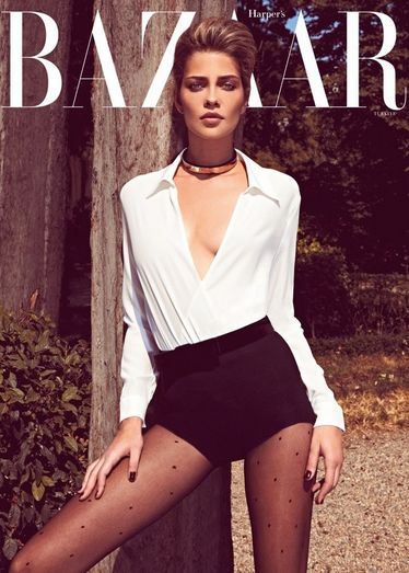 Ana Beatriz Barros - Harper's Bazaar Magazine Cover [Turkey] (November 2011)