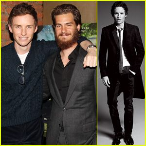 Andrew Garfield Supports Pal Eddie Redmayne at 'Theory of Everything' Screening in NYC