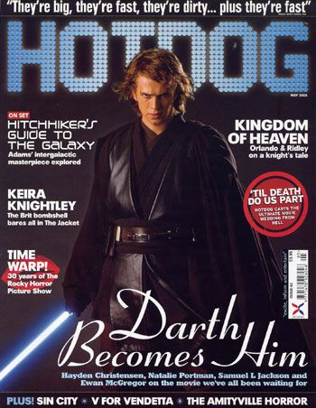Hayden Christensen - Hotdog Magazine [United Kingdom] (May 2005)