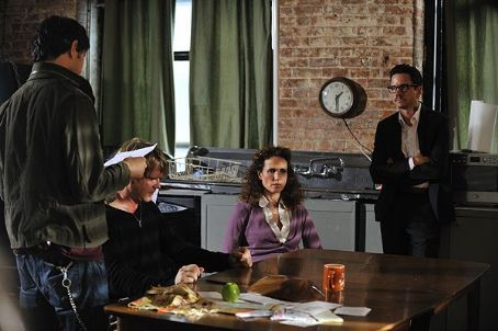 Frank Whaley L to R: Matt Dallas as Jake, Cary Elwes as Ethan, Andie MacDowell as Helen and  as Aaron in As Good as Dead.