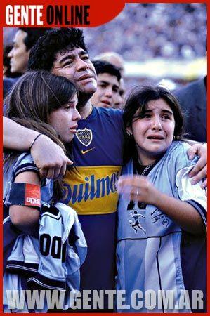 Diego Armando Maradona Giannina Maradona Gente Magazine Pictorial 12 November 2001