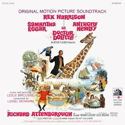 Anthony Newley - Dr. Dolittle 1967 Movie Soundtrack