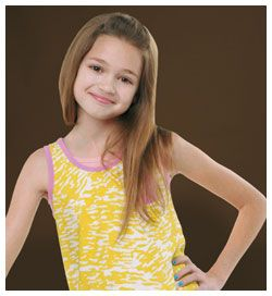 Ciara Bravo yellow looks awesome on her