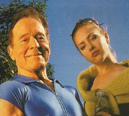 Jack LaLanne and actress Charis Michelsen promote good heath