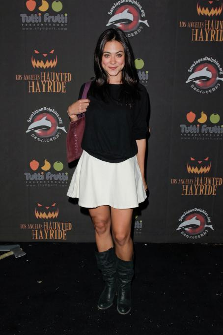 Camille Guaty - 2 Annual Haunted Hayride Premiere Night At Griffith Park On October 10, 2010 In Los Angeles, California