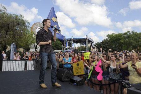 Scotty McCreery  performed at Walt Disney World today, May 30, in Buena Vista, FL.
