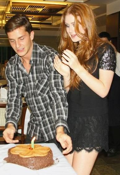 Klébber Toledo  and Marina Ruy Barbosa