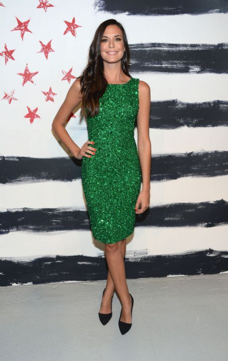 Odette Annable: at Alice + Olivia Spring 2013 Fashion Show during Mercedes Benz Fashion Week in New York