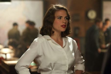 Hayley Atwell as Peggy Carter in Captain America: The First Avenger (2011)