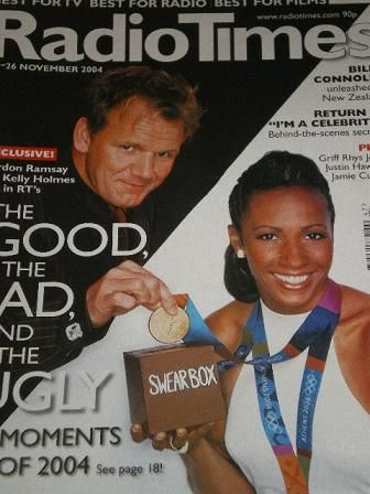 Gordon Ramsay (chef) - Radio Times Magazine [United Kingdom] (20 November 2004)