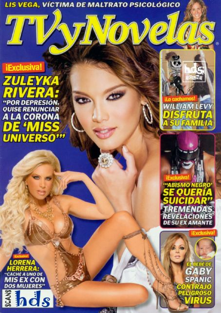 Lorena Herrera - TV Y Novelas Magazine [Mexico] (30 March 2009)