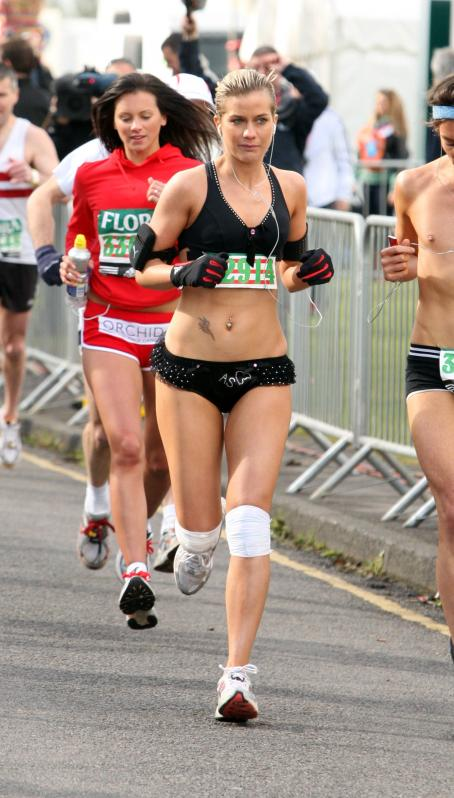Kate Lawler  - London Marathon - Apr 13, 2008