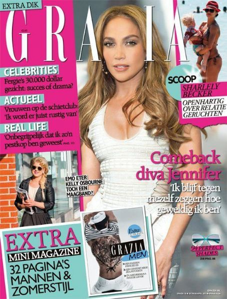 Jennifer Lopez - Grazia Magazine Cover [Netherlands] (20 April 2011)