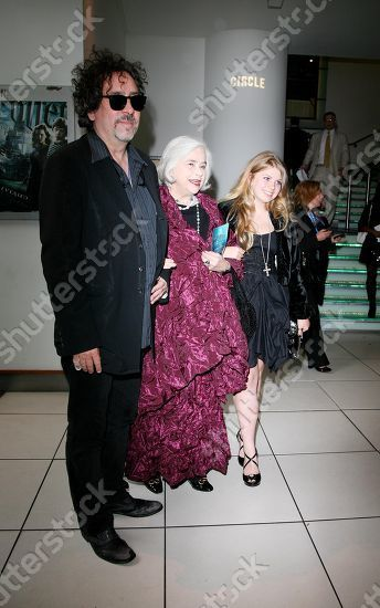 Tim Burton, Elena Bonham Carter and Rose Bonham Carter attend the 'Harry Potter and the Half-Blood Prince' Film premiere, London, Britain - 07 July 2009