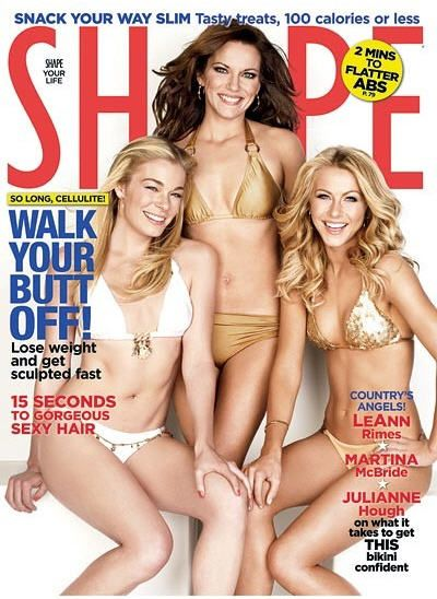 Julianne Hough - Shape Magazine [United States] (July 2009)