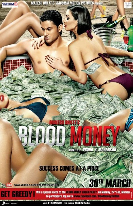 Kunal Khemu Blood Money 2012 Poster Starring  and Amrita Puri